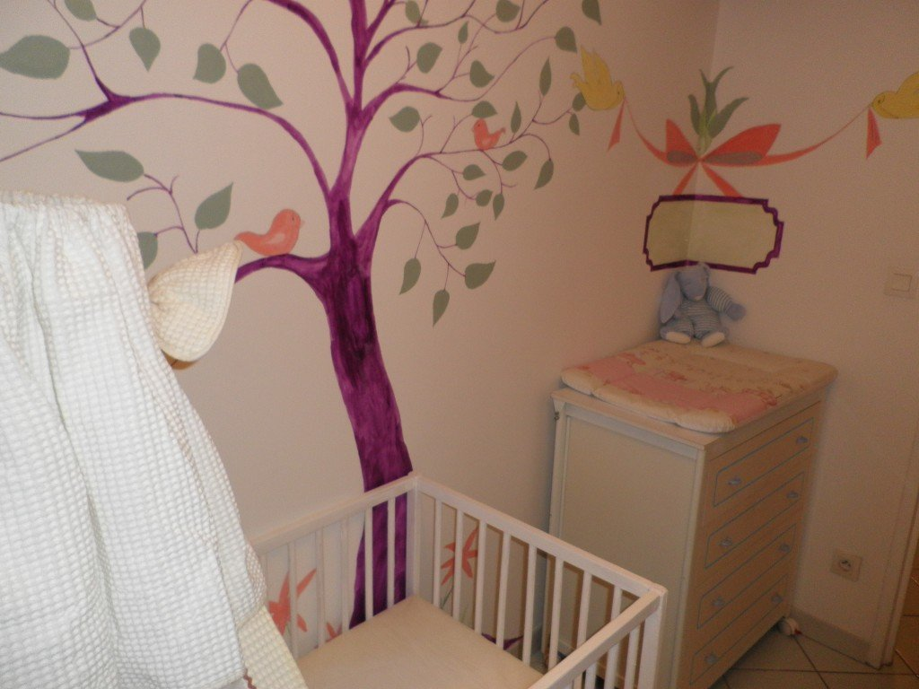 D co chambre b b princessegaufrette for Decoration murale chambre bebe